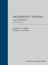 Decedents' Estates book jacket