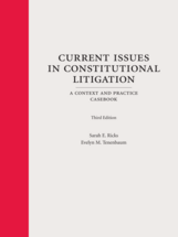 Current Issues in Constitutional Litigation, Third Edition