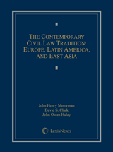 The Contemporary Civil Law Tradition: Europe, Latin America, and East Asia book jacket