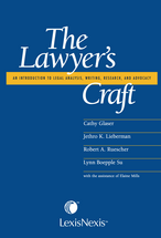 The Lawyer's Craft book jacket