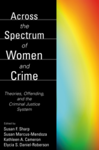 Across the Spectrum of Women and Crime book jacket