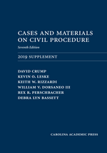 Cases and Materials on Civil Procedure: 2019 Document Supplement, Seventh Edition
