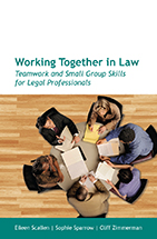 Working Together in Law book jacket