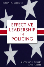 Effective Leadership in Policing book jacket