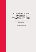 International Business Transactions book jacket
