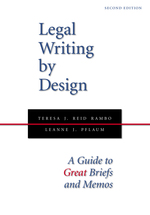 Legal Writing by Design book jacket