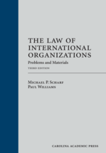 The Law of International Organizations book jacket