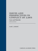 Issues and Perspectives in Conflict of Laws book jacket