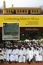 Contesting Islam in Africa book jacket