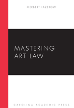 Mastering Art Law book jacket