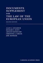 Documents Supplement for The Law of the European Union, Second Edition