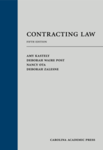Contracting Law book jacket