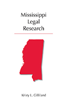 Mississippi Legal Research book jacket