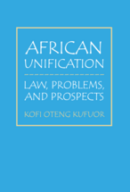 African Unification book jacket