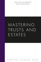 Mastering Trusts and Estates book jacket