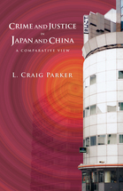 Crime and Justice in Japan and China book jacket