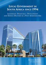Local Government in South Africa Since 1994 book jacket