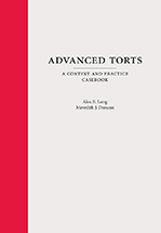 Advanced Torts book jacket