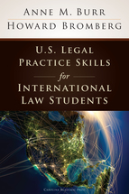 U.S. Legal Practice Skills for International Law Students book jacket
