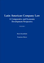 Latin American Company Law, Volume I book jacket