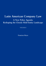 Latin American Company Law, Volume II book jacket