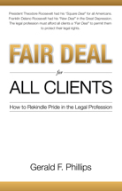 Fair Deal for All Clients book jacket