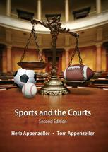 Sports and the Courts book jacket