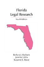 Florida Legal Research book jacket