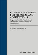Business Planning for Mergers and Acquisitions book jacket
