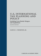 U.S. International Tax Planning and Policy book jacket