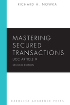 Mastering Secured Transactions book jacket