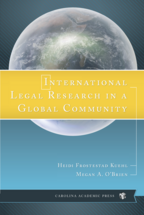 International Legal Research in a Global Community book jacket