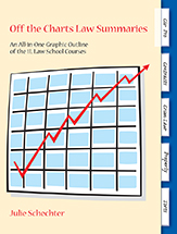 Off the Charts Law Summaries book jacket