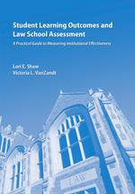 Student Learning Outcomes and Law School Assessment book jacket