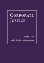 Corporate Justice book jacket
