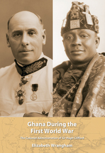 Ghana During the First World War book jacket