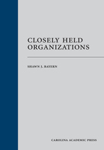 Closely Held Organizations book jacket