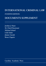 International Criminal Law Documents Supplement book jacket