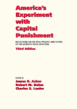 America's Experiment with Capital Punishment book jacket