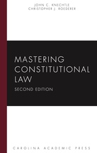 Mastering Constitutional Law book jacket