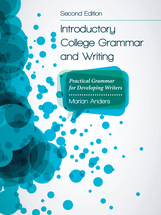 Introductory College Grammar and Writing book jacket