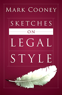 Sketches on Legal Style book jacket