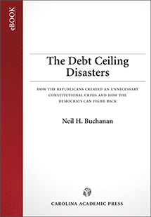 The Debt Ceiling Disasters book jacket