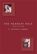 The Hearsay Rule book jacket