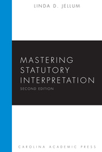 Mastering Statutory Interpretation book jacket