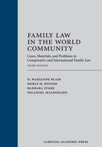 Family Law in the World Community book jacket