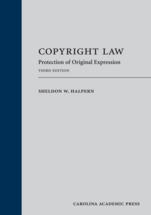 Copyright Law book jacket