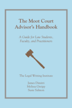 The Moot Court Advisor's Handbook book jacket