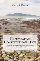 Comparative Constitutional Law book jacket