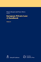 European Private Law book jacket